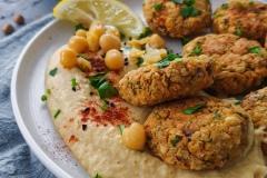 Falafel z hummuem