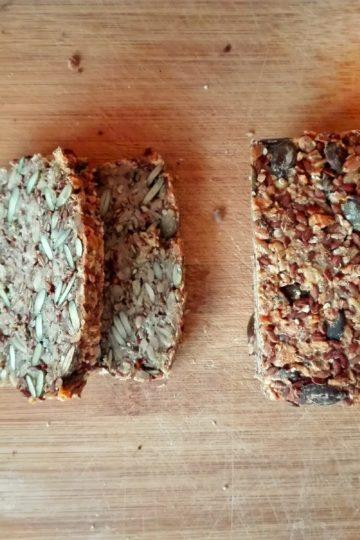 Chleb z samych ziaren, bez mąki