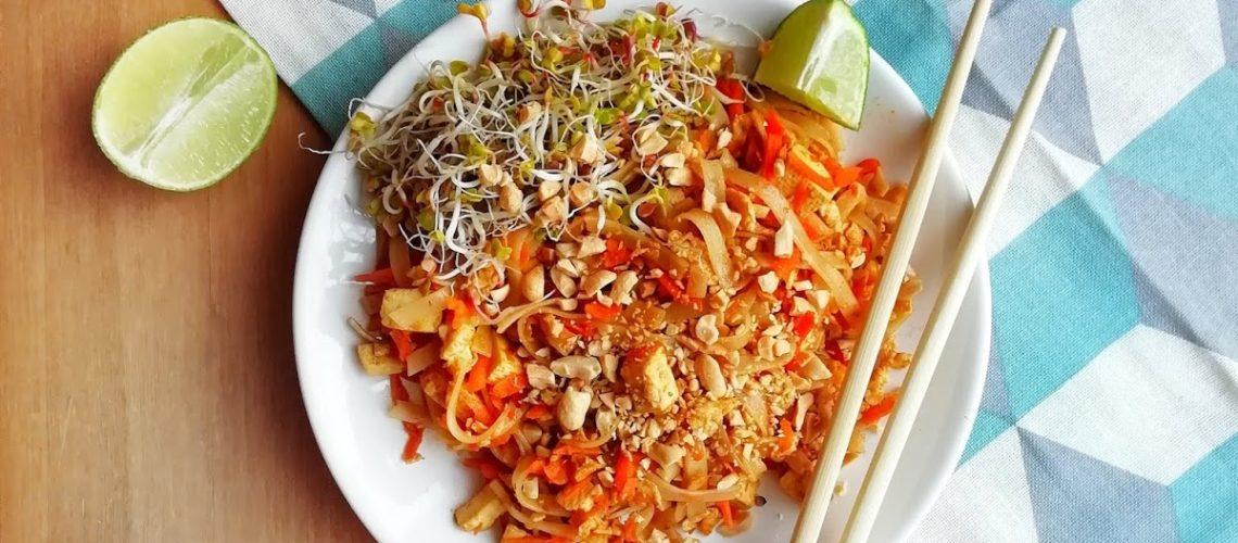 Pad thai z tofu - moja wersja tajskiego makaronu :)