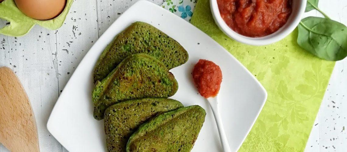 Zielone tosty bez chleba