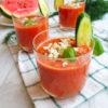 Gazpacho pomidorowe z arbuzem, orzeźwiający letni obiad w kilka minut