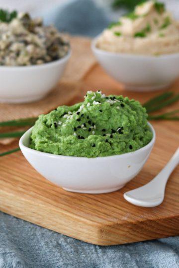 Pesto z zielonego groszku